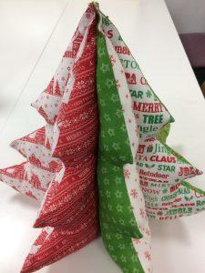fabric Christmas tree